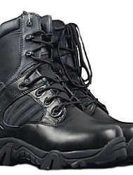 Military Combat Boots Outdoor High-Top Shoes Men`s Commando Breathable Boots