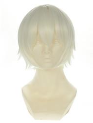 k Isana yashiro prata versátil virou alice curta o dia das bruxas perucas perucas traje perucas sintéticas