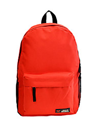 Women Canvas Casual / Outdoor Backpack Pink / Purple / Blue / Green / Yellow / Orange / Red / Black / Dark Purple