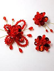 Compactos(Vermelho) -Tema vintage-Casamento 10*5*2cm