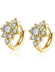 XU Women Vogue Spend Diamonds Inlaid The Ear Clip