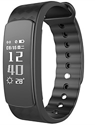Smart BraceletWater Resistant/Waterproof / Long Standby / Health Care / Sports / Heart Rate Monitor / Temperature Display / Multifunction