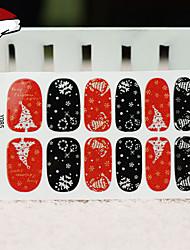 1 Nail Sticker Art Paillettes & Poudre Maquillage cosmétique Nail Art Design