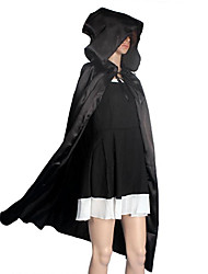 Cosplay Costumes Cloak Masquerade Halloween Props Party Costume Wizard/Witch Angel/Devil Ghost Movie Cosplay Black Cloak Halloween