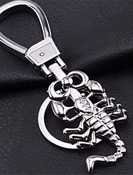 Stereo Scorpion Keychain Car Key Creative Personality Men Waist Hanging Ornaments