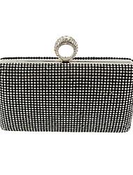 Women PU Formal / Event/Party / Wedding Evening Bag/Purse/Shimmering Diamonds Hand Bag/Rhinestones/Crown/Clutch