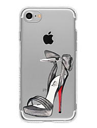 Para Funda iPhone 7 / Funda iPhone 7 Plus / Funda iPhone 6 Diseños Funda Cubierta Trasera Funda Chica Sexy Suave TPU AppleiPhone 7 Plus /