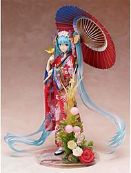 Figure Anime Azione Ispirato da Vocaloid Hatsune Miku PVC 22 CM Giocattoli di modello Bambola giocattolo