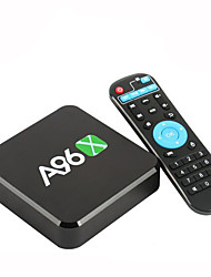 a96x Amlogic s905x Android 6.0 Smart TV 3D 4k 1g núcleo RAM 8G ROM de cuádruple wifi