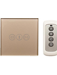 H008 Electric Curtain Switch Touch Induction (Color Gold)