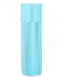 Protector/Envase de Viaje para Cepillo de Dientes Portátil Aseo Personal para Portátil Aseo Personal Morado Rojo Verde Azul