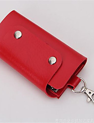 Men PU Casual Outdoor Key Holder
