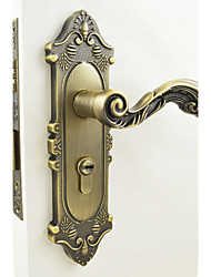 Traditional Door Locks , Finish for Antique Brass , Zinc Alloy