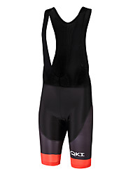 Sports QKI Cycling Bib Shorts Unisex Breathable / Quick Dry / Anatomic Design /Polyester/ LYCRA / 5D Pad