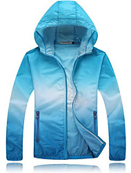 Hiking Sun Protection Clothing UnisexWaterproof  Breathable  Quick Dry  Windproof  Ultraviolet Resistant  Anti-Insect