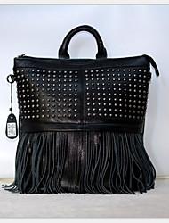 На каждый день Рюкзак Для женщин Яловка Черный