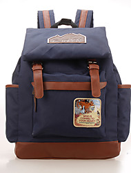 Women Backpack Canvas All Seasons Casual Red Green Light Green Royal Blue