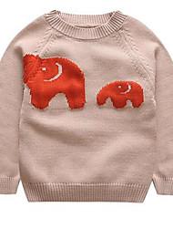 Pull & Cardigan Garçon Décontracté / Quotidien Motif Animal Coton Hiver / Printemps / Automne Manches longues Court