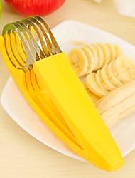 Slicer Küche liefert Banane Scheibe geschnitten nett schön bequem