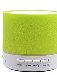 coloré lampe dazzle a9 fissure bluetooth mini haut-parleur audio de voiture portable