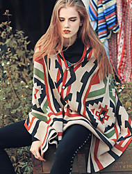 Aporia.As  Women Polyester ScarfCasual RectangleGrayPrint-MZ15025