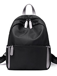 Women Canvas Oxford Cloth Casual Outdoor Backpack All Seasons