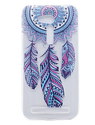 For ASUS ZB551KL ZB452KG Wind Chimes Pattern High Permeability TPU Material Phone Shell