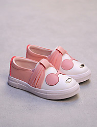 Girl's Loafers & Slip-Ons Comfort PU Casual Black / Pink