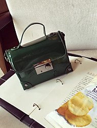 Women Patent Leather Casual Shoulder Bag