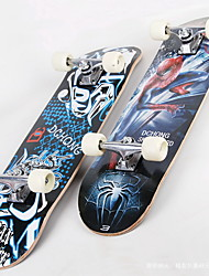 Four-wheel professional skateboard Adult skateboard Maple skateboards road plate double up inside concave plate