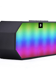 Creative Wireless Bluetooth Speakers Dazzle Colour Mini Led Luminous Gift Of Bluetooth Stereo Speakers