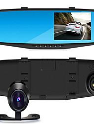 OEM de Fábrica 4.3 Polegadas Allwinner Cartão TF Preto Carro Câmera