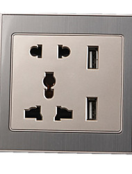 dual usb socket multi-cinq trous