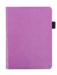 Folio PU Leather Cover Case For 2017 New Release Kobo Aura H2o Edition 2 6.8 Water Proof Ereader Protective Cover Skin