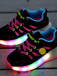 LED Light Up,Kid Boy Girl Roller Shoes / Ultra-light Single Wheel Skating / Athletic / Casual