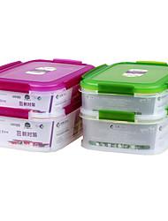 Многослойные герметичных печенье пластиковые пищевых контейнеров с крышкой