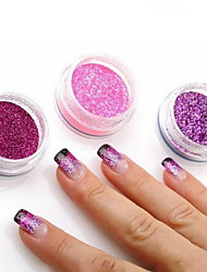 12 Kinds Of Color/SET  Nail Art Decoration Glitter Powder  Nail Necessary