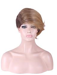 Короче говоря женщина волосы пушистые пропустить наклонными особенность взрыва материала париков для женщин стиль Показанный цвет парики