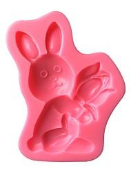 Easter Bunny  Silicone Cake Mold   SM-494