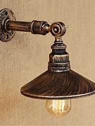 parede lâmpada de parede AC 220V-240V 40w e27 estilo industrial tubulação de água Nordic Light-brown antiga