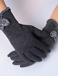 Touch Screen Gloves 5 Colors Fashion Women Outdoor Winter Warm Gloves Touch Screen Sport Ski Gloves Mittens