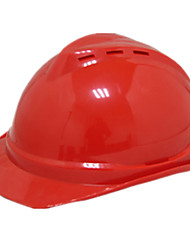 Abs Safety Helmet (Red)