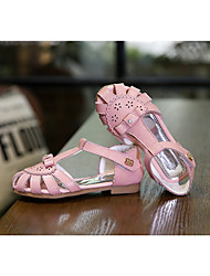 Girl's Sandals Others Leather Casual Pink / White / Gold