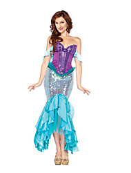 Sexy Mermaid Tail Costume Women Ariel Swimming Mermaid Tails Costume Costume Halloween Costumes for Women