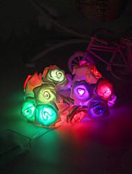 20-geführten 2.5m Sternlicht wasserdichten Stecker im Freienweihnachtsfeiertagsdekoration Licht LED-String-Licht