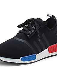 Boys' Shoes Outdoor / Athletic / Casual Tulle Sneakers Spring / Summer / Fall / Winter Comfort Lace-up Black