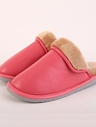 M.livelihood.H Women's Slippers & Flip-Flops Winter Slingback Cowhide Casual Flat Heel Others Pink Others-LB2016023
