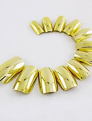 70pcs ouro tiras Nail Fashion atmosfera segura fácil de operar 1set