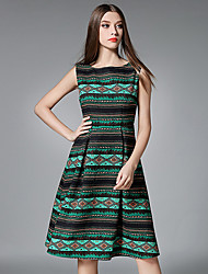 Maxlindy Women's Going out / Party/Cocktail / Holiday Vintage / Street chic / A Line Dress