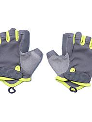 фитнес перчатки (серый зеленый s код)